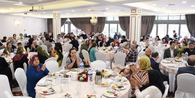 'Engelsiz mobil eğitim' projesi kursiyerleri kahvaltıda buluştu