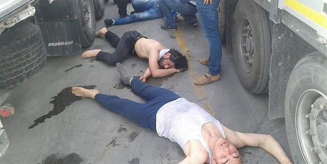 DHKP-C'li 4 terörist dorsede bayılmak üzereyken yakalandı