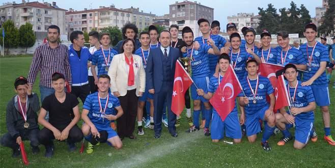 Şampiyon Burgazspor!