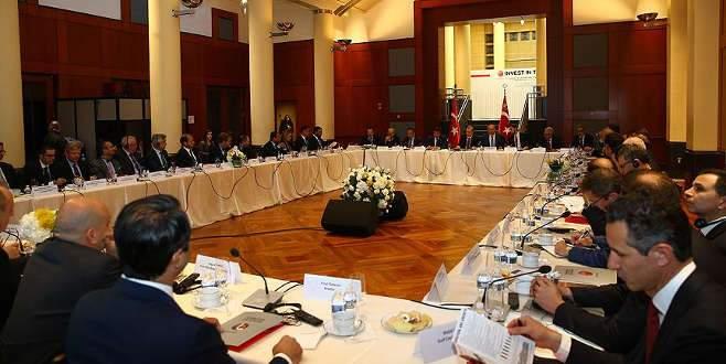 Cumhurbaşkanı Erdoğan Amerikalı yatırımcılarla görüştü