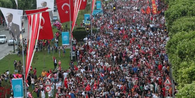 Binlerce kişi 19 Mayıs'ta geleceği için yürüyecek