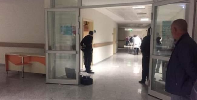 Hastanede silahlı saldırı: 1 ölü