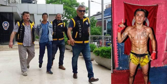 Bursa'da milli sporcuyu yaralayan şahıs bilet alırken yakalandı