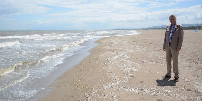 Karacabey sahilleri yaza hazırlanıyor