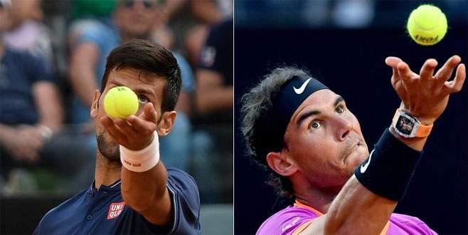 Nadal ve Djokovic Roma'da kayıpsız ilerliyor