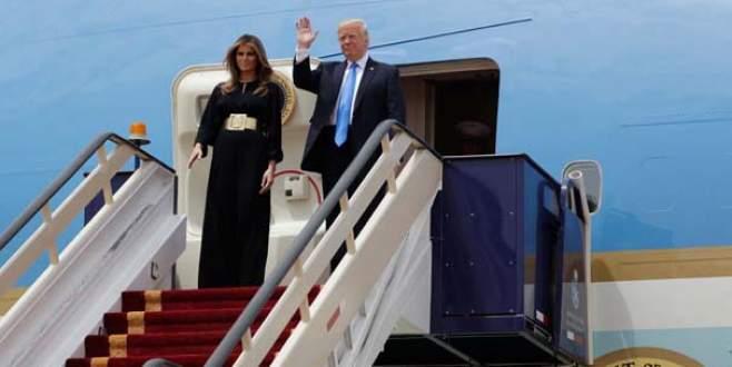 Donald Trump Suudi Arabistan'da