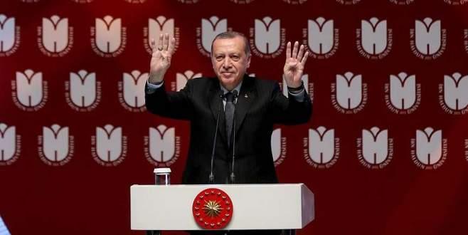 Erdoğan: Geçmişi yok sayarak geleceğe yürünmez