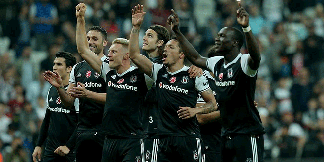 Beşiktaş şampiyonluğa bir adım daha yaklaştı