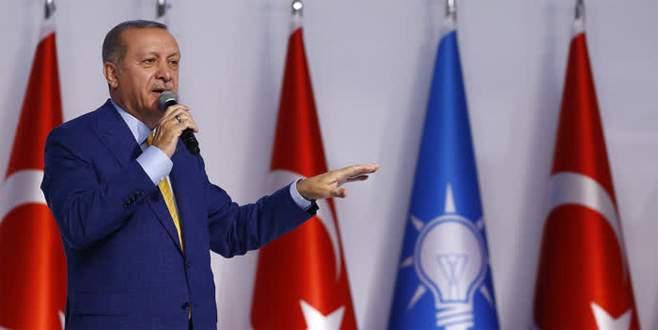 Erdoğan: 'Bu kongremiz, yeni bir başlangıçtır'