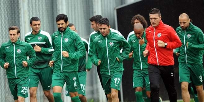 Bursaspor'da Gençlerbirliği maçı hazırlıkları başladı