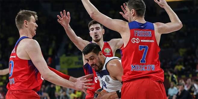 THY Avrupa Ligi'nde üçüncü CSKA Moskova