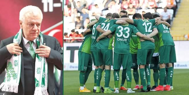 'Bursaspor hepimizin'