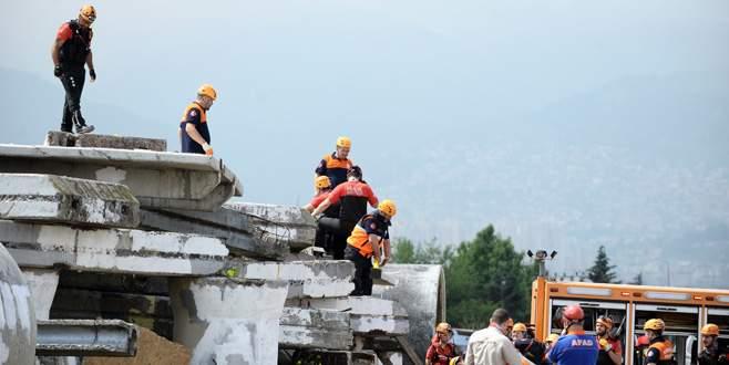 Bursa'da 5,6 şiddetinde deprem senaryolu tatbikat