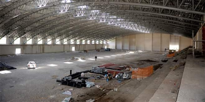 Türkiye'nin en büyük atletizm salonunda sona gelindi