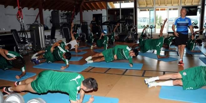 Bursaspor'da Gençlerbirliği maçı hazırlıkları sürüyor