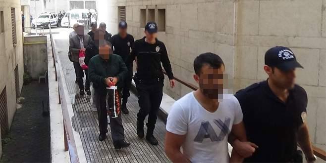 Bursa'da PKK propagandası yapan 8 kişi tutuklandı