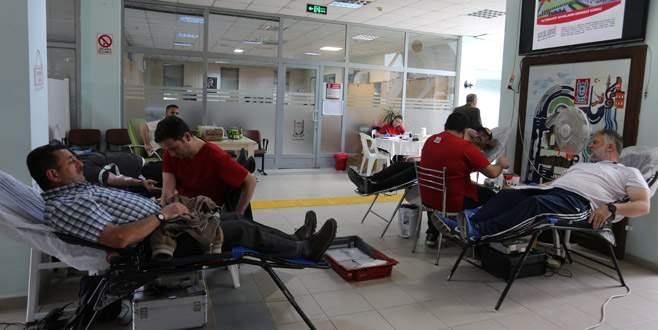 Gürsu'da kan bağışına destek