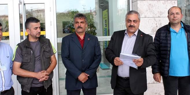 Nilüfer'de grev kararı