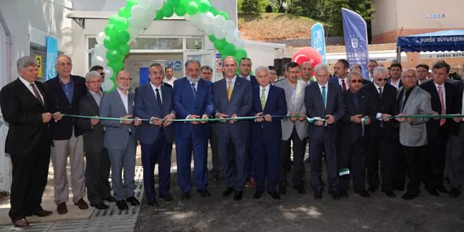 BUSKİ'nin 2. hidroelektrik santrali açıldı