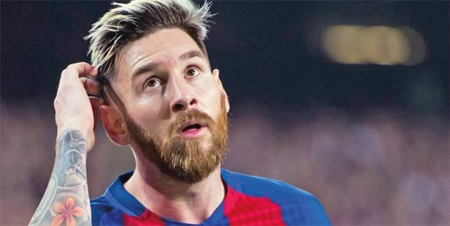 Messi'nin itirazı reddedildi