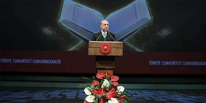 Erdoğan: 'Kur'anla rabıtamızı her daim güçlü tutmalıyız'