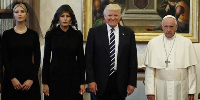 Kavga ettiği Papa ile buluştu