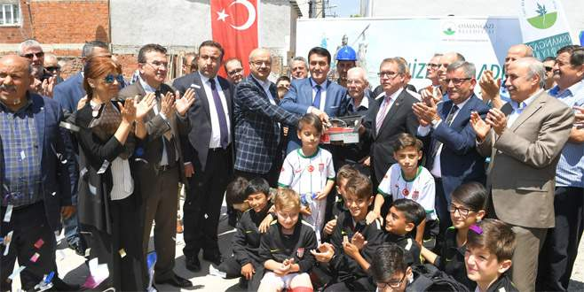 Bursa'ya bir sosyal tesis daha