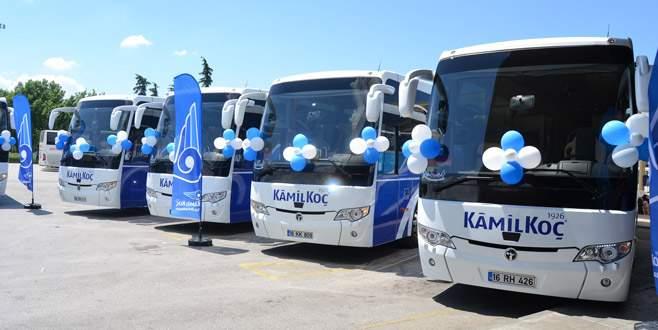 Kamil Koç'a 40 yeni otobüs