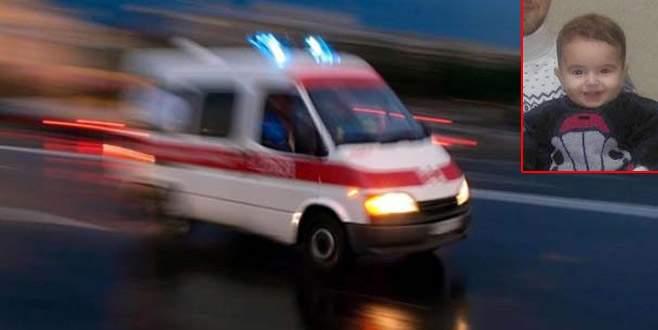 Bursa'da balkondan düşen çocuk hayatını kaybetti