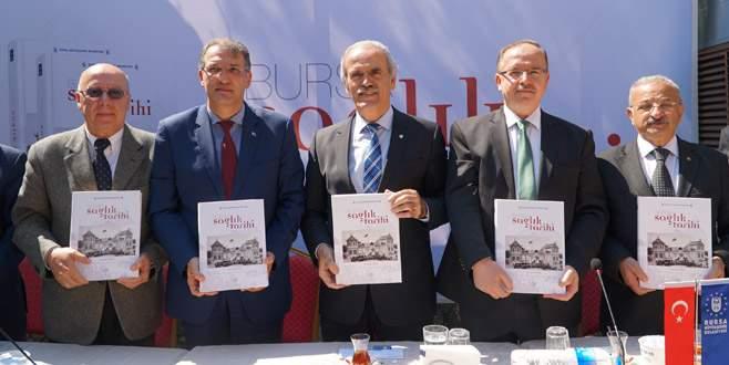 Bursa'nın sağlık tarihi kitaplaştırıldı