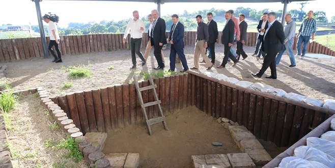 Bilim adamları Bursa'da zaman tünelinde