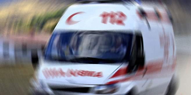 Bursalı genç çift, camdan evlerine girmek isterken yere çakıldı