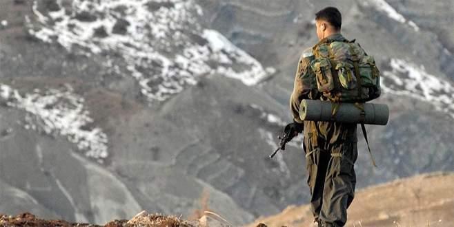 Bitlis'te terör saldırısı: 1 asker yaralandı