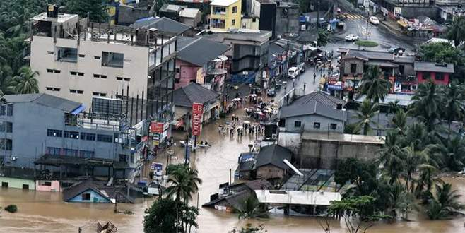 Sri Lanka'da sel ve heyelan: 91 ölü