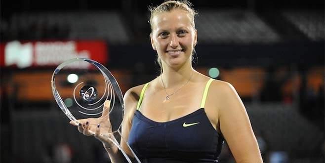 Çek tenisçi Kvitova geri döndü