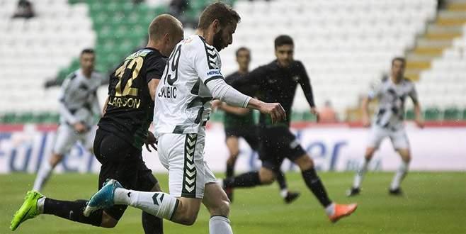 A. Konyaspor 0-3 Akhisar Belediyespor