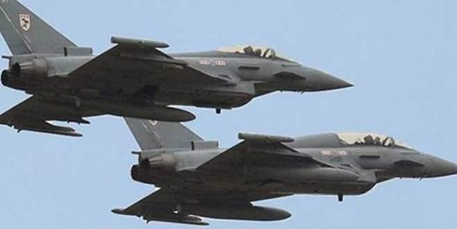 İngiliz jetleri acil koduyla havalandı