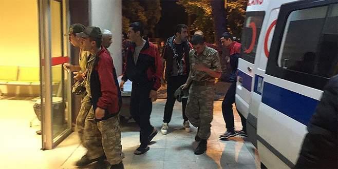 Manisa Kırkağaç'ta müşahede altında bulunan askerler taburcu edildi