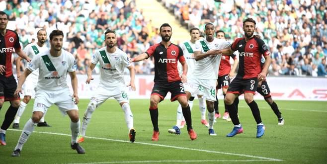 Bursaspor 1-2 Gençlerbirliği