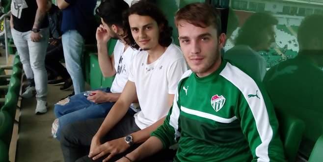 Enes Ünal, Bursaspor maçını izledi