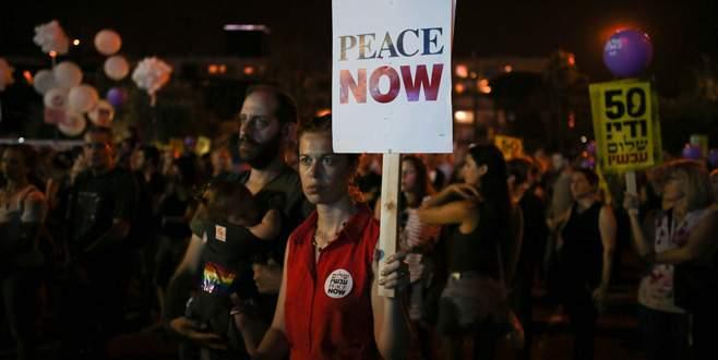 İsrail işgali protesto edildi