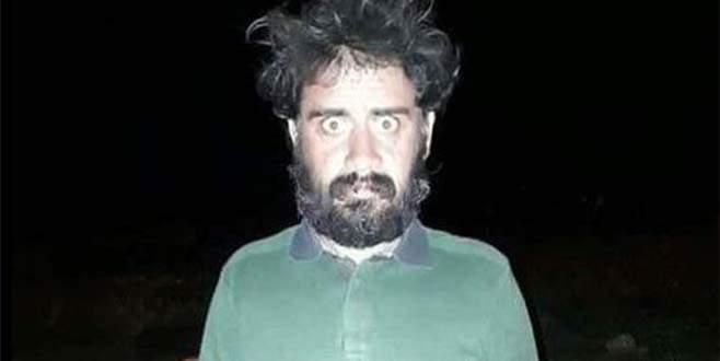 PKK'lı terörist bu halde yakalandı!
