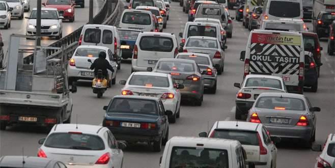 Ankara yolunda trafik düzenlemesi