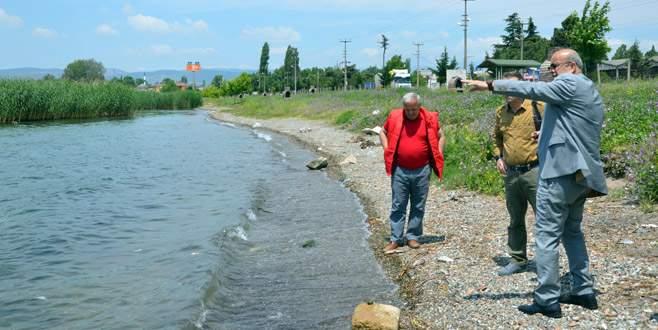 'Göl suyunda yaşamsal değerler normal aralıklarda'
