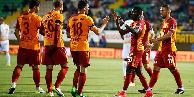 Galatasaray 3-2 Aytemiz Alanyaspor