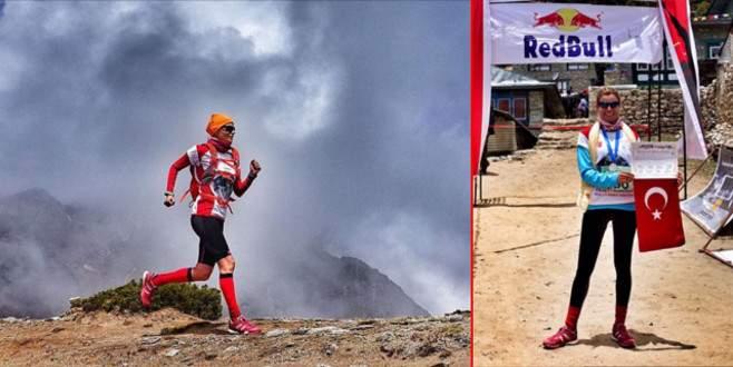 Everest Maratonu bitiren ilk Türk