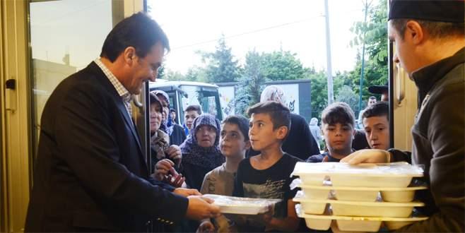 Osmangazi Aşevlerinde ramazan coşkusu