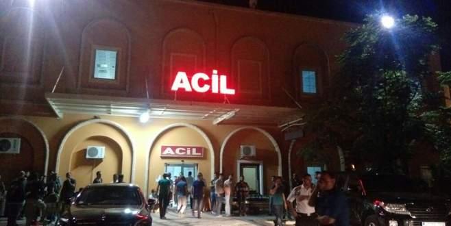 Devriye gezen polis aracına saldırı: 2 yaralı