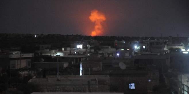 Rusya Suriye'deki hedefleri vurdu