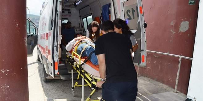 Bursa'da vinç kazası: 2 yaralı